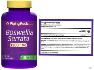 1200mg Boswellia Serrata 300mg 4:1 Extract 120 Capsule Joint Health Support Pill