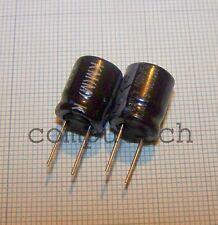 4,7uF 400V 105°C Condensatori elettrolitici SAMXON KM Series 10 x 13mm 5 pezzi