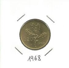 REPUBBLICA ITALIANA - 20 Lire 1968
