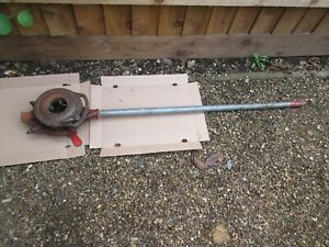 virax type 45 pipe tube threading tool die stock head