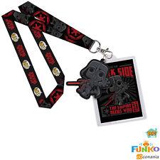 Funko POP! Darth Vader Star Wars Lanyard Rubber Charm ID Badge FK9735 - NEW