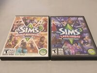 The Sims 3 World Adventures & Late Night  Expansion Pack (PC)