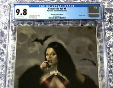 Vampirella #1 CGC 9.8 NM/MT Exclusive Virgin Variant Carla Cohen 1 of 500 copies