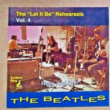 """The Beatles - The """"Let It Be"""" Rehearsals Vol. 4 Rock And Roll Yellow Dog 1994 CD"""