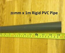 20mm x 900mm or 1M PVC Hard Rigid Pipe Marine Tropical Aquarium Fish Reef Safe