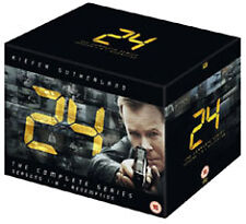 24 - SEASON 1 TO 8 COMPLETE - DVD - REGION 2 UK