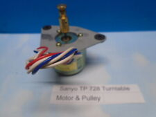 Sanyo Tp 728 Turntable Motor (Dms-148F-61) with Pulley Used