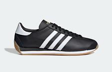 Adidas Originales país OG Cuero Zapatos Estilo Vintage En Blanco Y Negro
