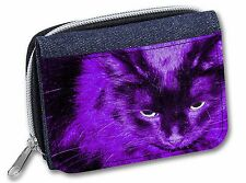 Tabby Cat /'Nan/' Sentiment Girls//Ladies Denim Purse Wallet Christmas Gi AC-142JW
