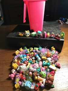 100+ Mixed NOVELTY ERASERS Erase Toys with Dumpster