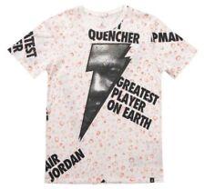 "Nike Mens Air Jordan ""Like Mike"" Gatorade All Over Print T-Shirt AJ1165-100 Sz M"
