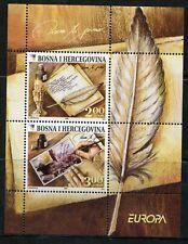 Bosnia and Herzegovina - 2008 - EUROPA CEPT- Letter - Souvenir Sheet MNH