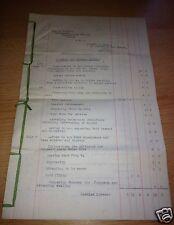 "Ephemera - 1936 Legal Document For Mrs Shaerf, ""Woodlands"", Brondesbury"
