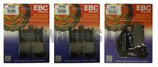 KAWASAKI ZX9R b1-b2 1994-1995 Set EBC Pastillas de freno traseras y Delanteras