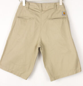 CARHARTT Men Presenter Casual Chino Bermuda Shorts Size W30 BDZ1345