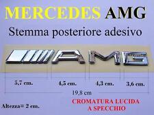 MERCEDES AMG A C E S SLK SL GT S Stemma POSTERIORE Badge Fregio Scritta Emblema