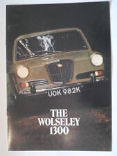 WOLSELEY 1300 MK.II SALOON orig 1972 UK Mkt Sales Brochure - #2852/B