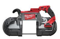 MILWAUKEE M18 FUEL™ DEEP CUT BAND SAW - M18CBS125-0 - NAKED - 4933447150