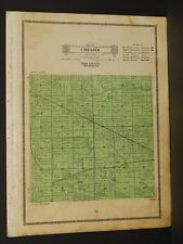 Minnesota Polk County Map 1915 Chester Township W4#03
