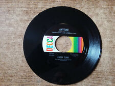 1968 MINT-EXC Patsy Cline – Anytime /// In Care Of The Blues 25744 45