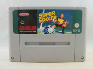 Super Nintendo SNES - Super Soccer
