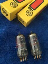 Valvo E88CC Red Label Pin de oro tubos de vacío-Raro - 6922 CCA CV2492 Mic Pre Amplificador