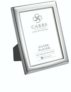 SILVER PLATED PLAIN PHOTOGRAPH FRAME (7 x 5 Inches)