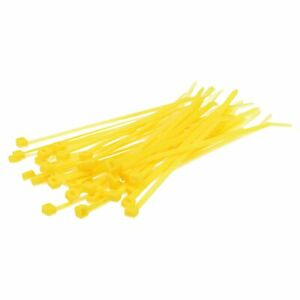 Cable Tie 200x4, 5mm Yellow 100 Piece