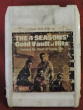 8 TRACK TAPE- The 4 Seasons:  Vault of Golden Hits FEATURING FRANKIE VALLI