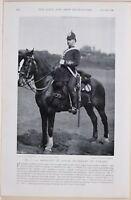 1896 Guerre des Boers Era Sans 1 Sergent De Batterie Royal Field Artillerie Sur