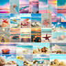 5D DIY Full Drill Diamond Painting Beach Cross Stitch Kits Embroidery Scenery US