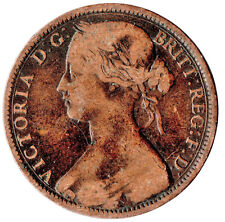 1863 ONE PENNY OF QUEEN VICTORIA /VERY HIGH GRADE       #JAN9