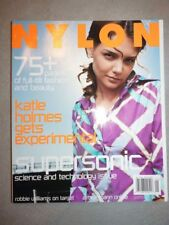 Magazine mode fashion NYLON december 2001 Katie Holmes