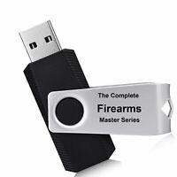 Firearm Master Series Gun Manuals Reloading Gunsmithing USB 32GB FLASH DRIVE