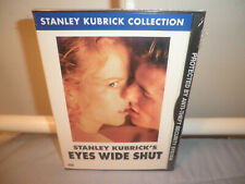 Eyes Wide Shut (Dvd, 2001, Stanley Kubrick Collection Cult Brand New Sealed