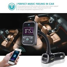 Wireless Bluetooth In-Car Mp3 Player Hand-free FM Transmitter Radio Adapter BK