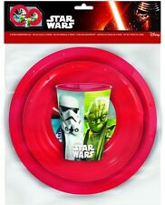 Disney Star Wars '3 Piece Meal Set' Dinner Set Brand New Gift