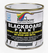 Rainbow Chalk *Grey* Blackboard Chalkboard Paint 250ml Liquid Chalk Marker Pens