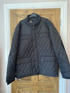 Burtons Mens Black Large Jacket Coat New With Tags