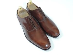 Church's Cheaney Mens Shoes Tan Plain Front UK 12 US 13 EU 46 F One Brief try on