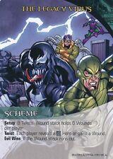 VENOM/DOC OCK/SCORPION Upper Deck Marvel Legendary SCHEME THE LEGACY VIRUS