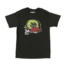 Metal Mulisha Men's Platoon Motocross Logo Tee FMX Skull Camo Helmet T-shirt NWT