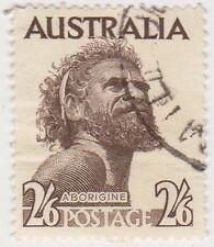 (PDX469) 1954 AU 2/6d aborigine with W/M (B)