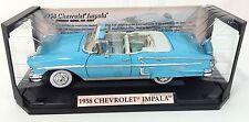 1958 CHEVROLET IMPALA~ Motor Max~ 1/18 Scale Die-Cast Car~ American Graffiti