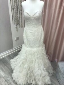 Maggie Sottero Mermaid Style Wedding Dress Size 10-12