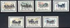San Marino 1966 HORSE COACHES MNH ANIMALS