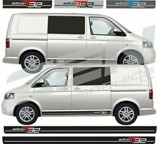 VW Transporter Camper T5 T6 Side Stripes Graphics Decals Stickers SWB