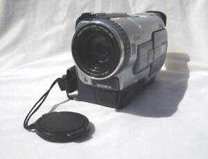 Sony DCR-TRV330E Digital8 Camcorder with Hi8/Vid8 playback. DV/AV-in.1yr Warnty