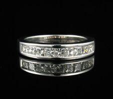 KAYS PRINCESS NATURAL 1.34ctw DIAMOND 14K GOLD ANNIVERSARY WEDDING BAND RING