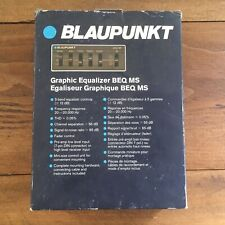 VTG 80's BLAUPUNKT Car Stereo GRAPHIC Equalizer BEQ-MS,BOXED,Audio,VW Porsche